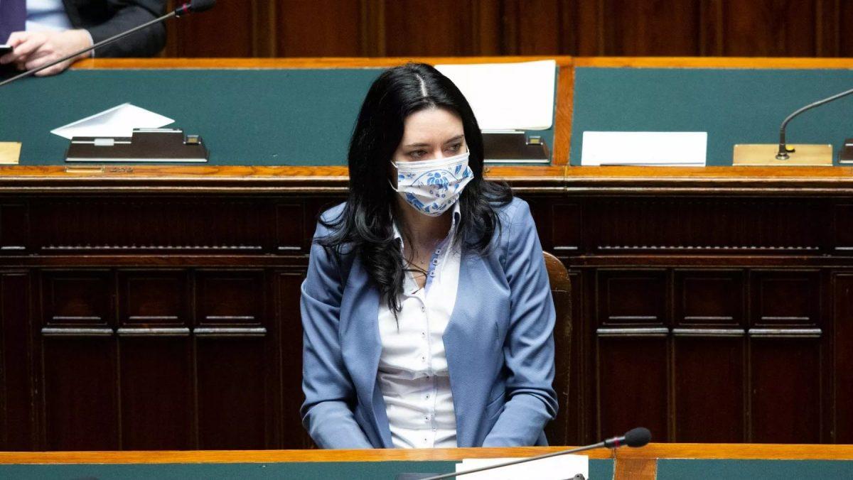La ministra dell'Istruzione Lucia Azzolina